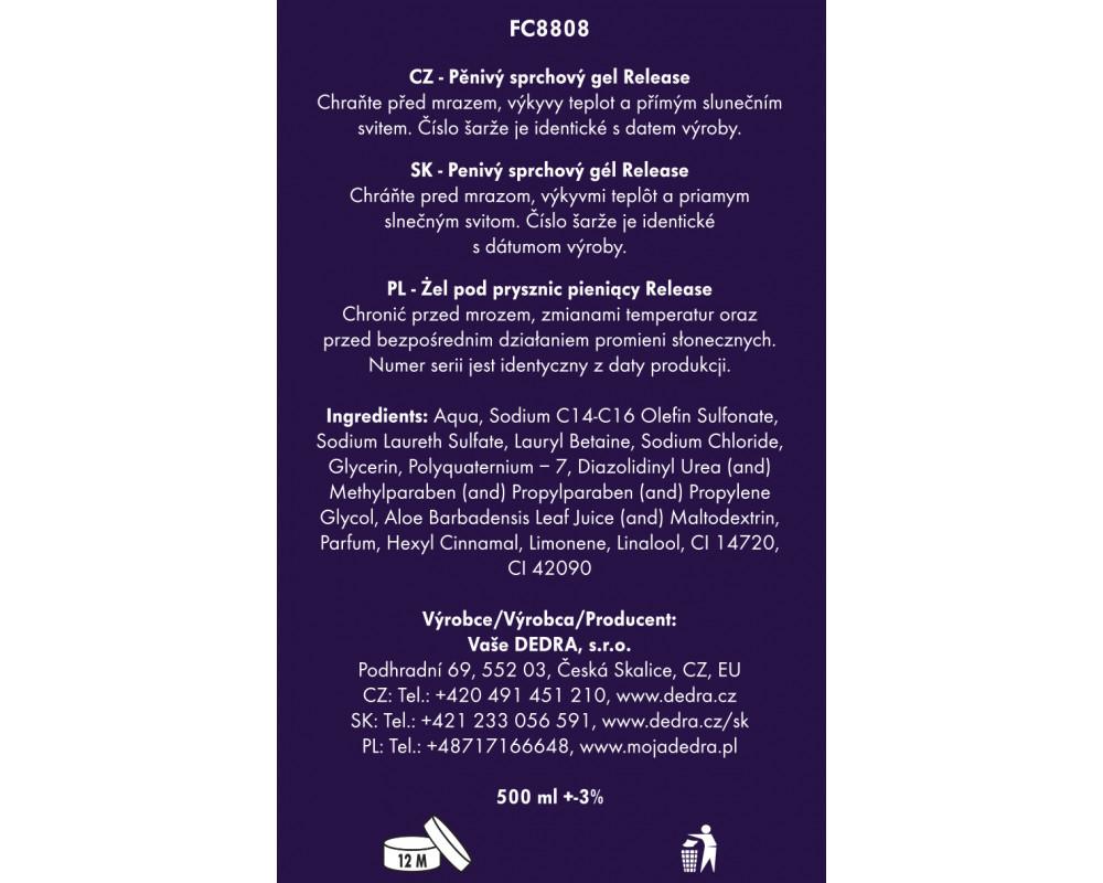 FC8808S-4 dielna darčeková sada LA COLLECTION privée release