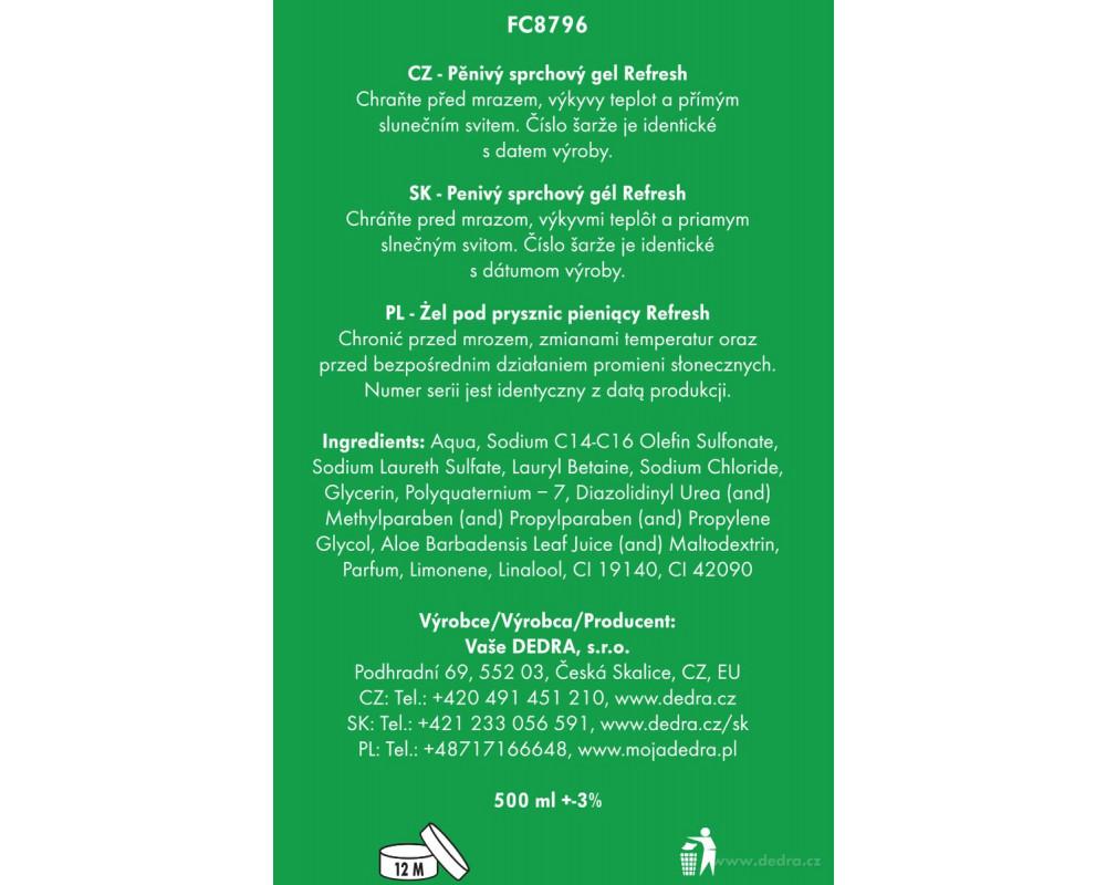 FC8796S-4 dielna darčeková sada LA COLLECTION privée refresh