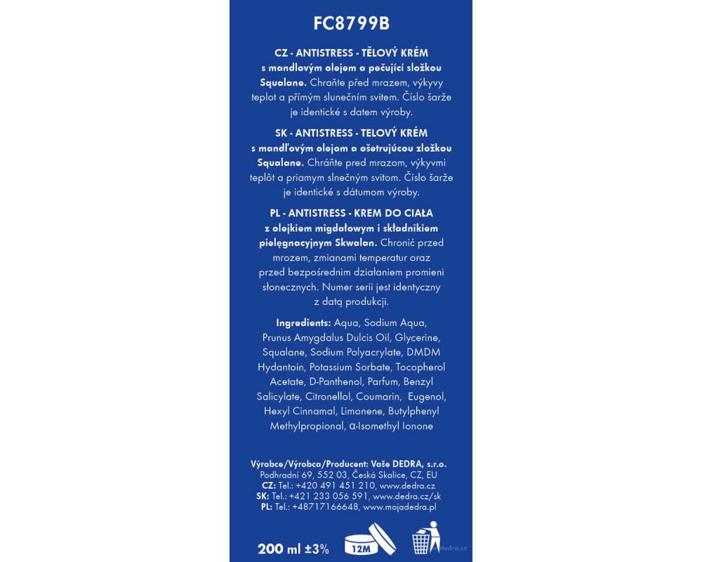 FC8799S-4 dielna darčeková sada LA COLLECTION privée antistress