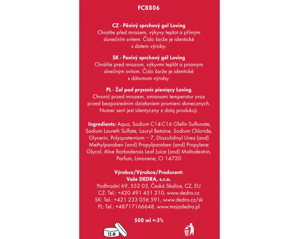 FC8806S-4 dielna darčeková sada LA COLLECTION privée loving