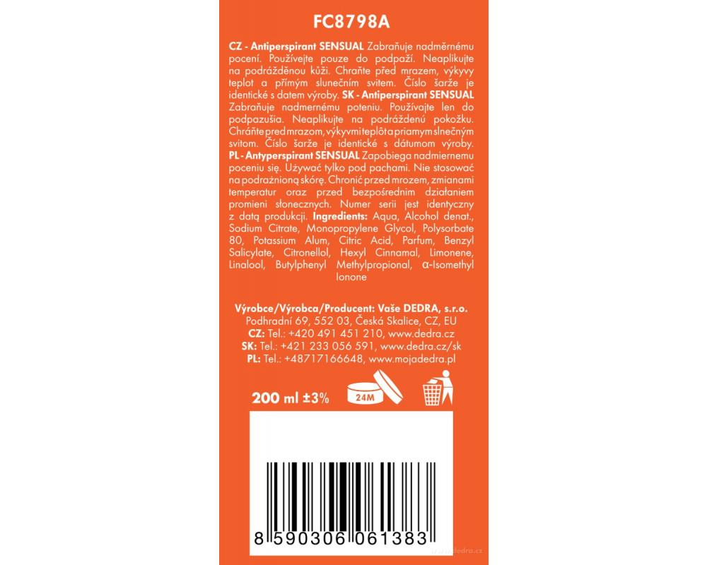 FC8798S-4 dielna darčeková sada LA COLLECTION privée sensual