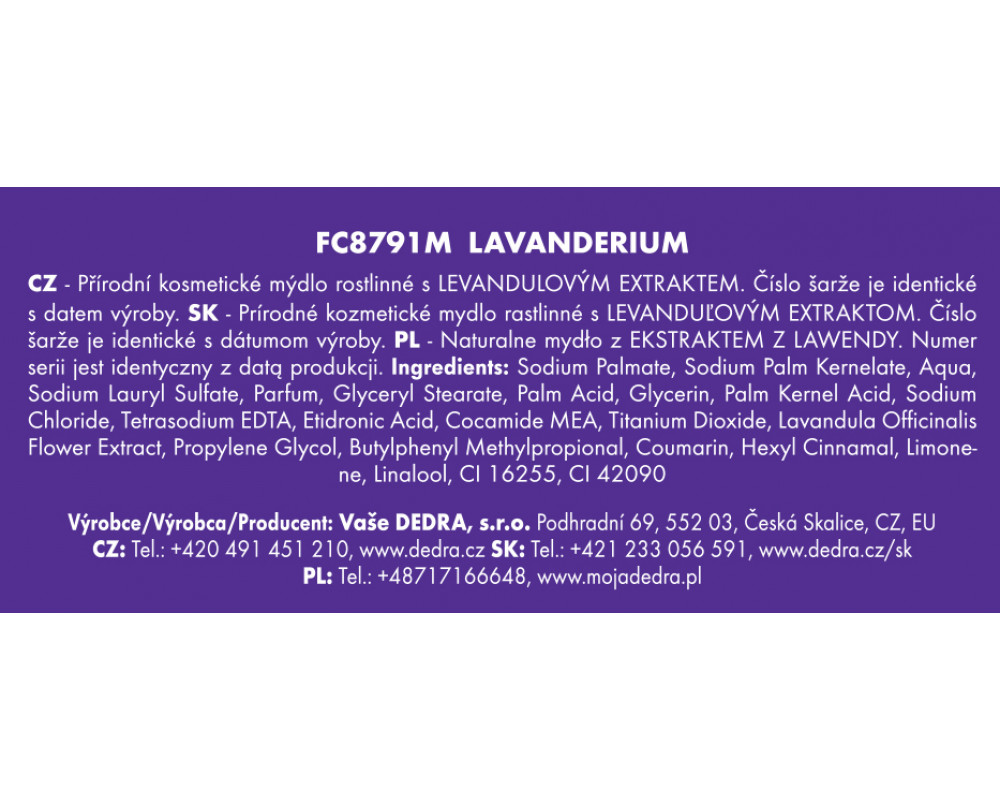 FC6746-Darčeková sada LAVANDERIUM