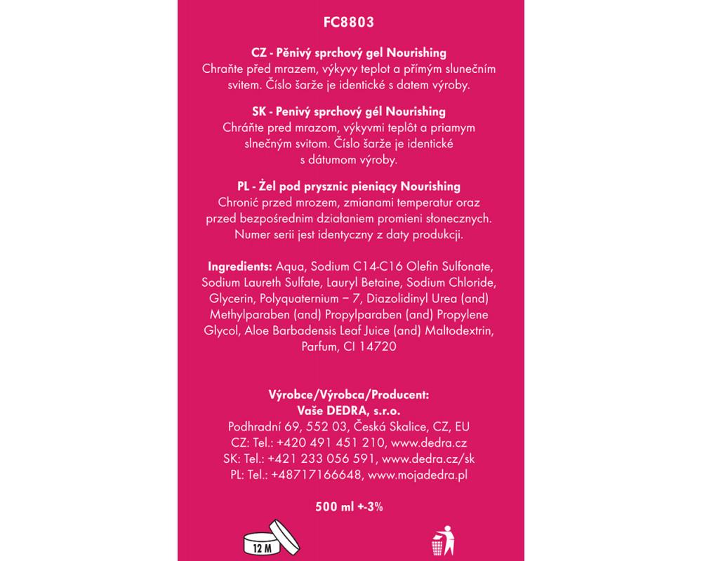 FC8803S-4 dielna darčeková sada LA COLLECTION privée Nourishing