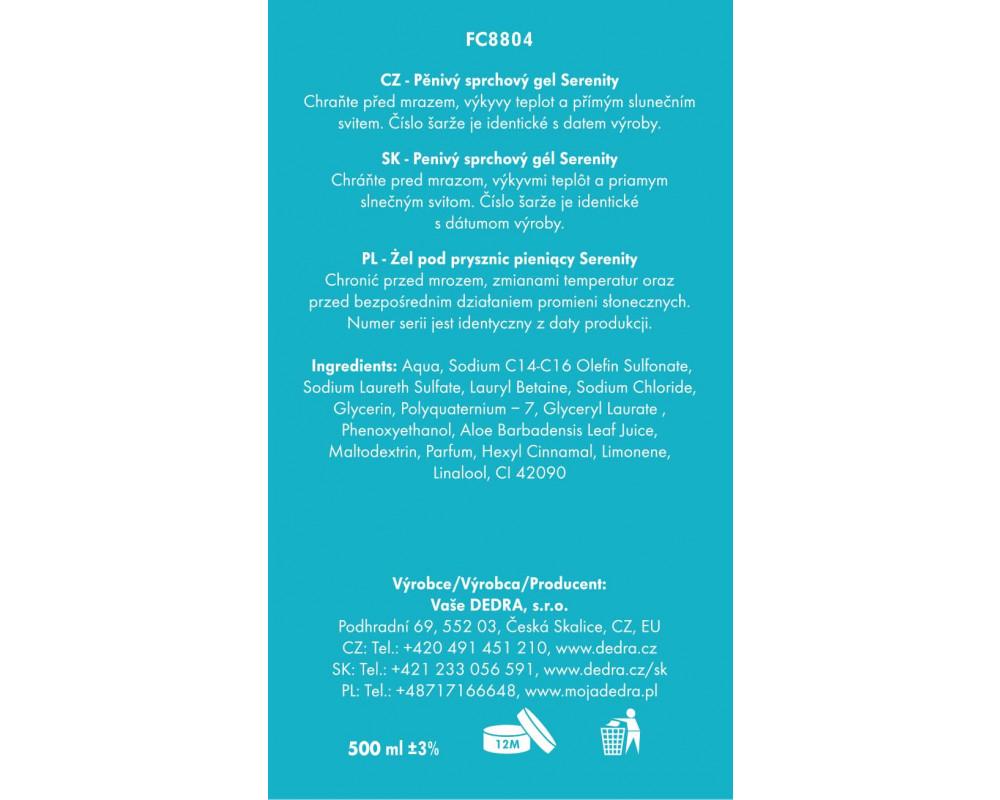 FC8804S-4 dielna darčeková sada LA COLLECTION privée serenity
