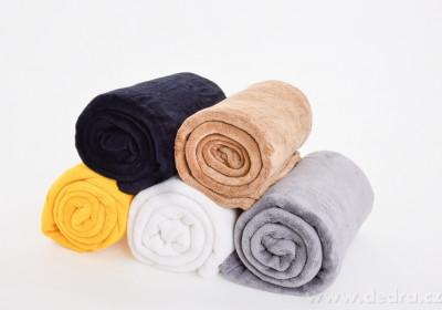 Deky, župany a uteráky