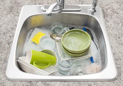 Ručné umývanie riadu