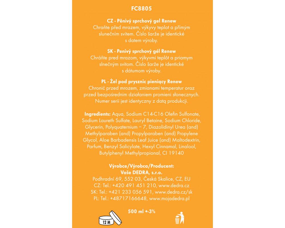 FC8805S-4 dielna darčeková sada LA COLLECTION privée renew